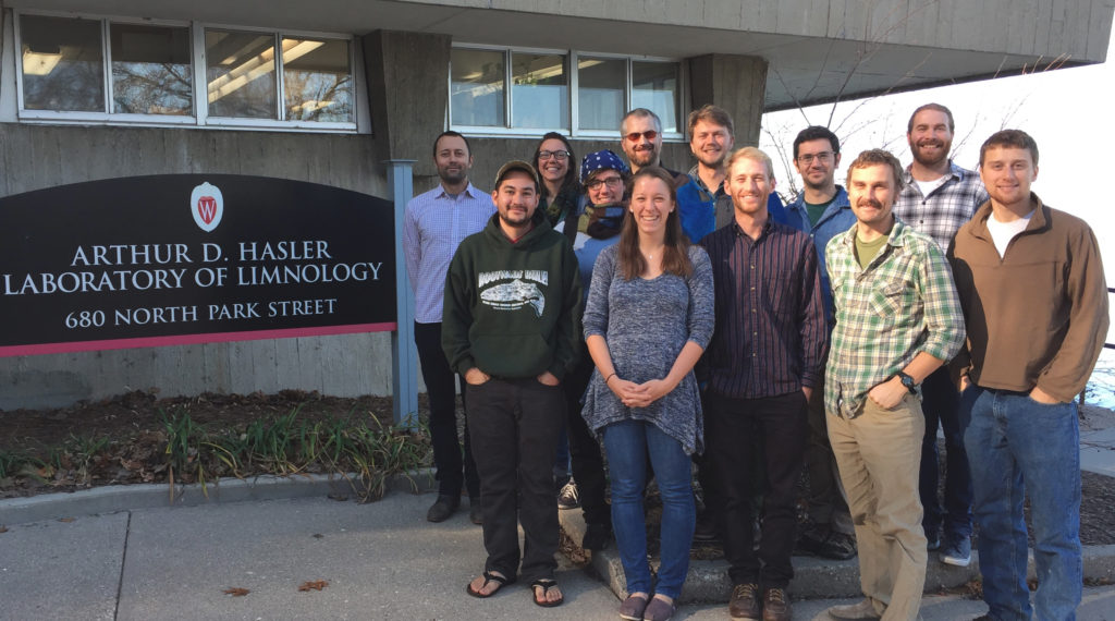 Grad Students 2016 in front of Hasler Lab