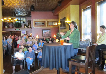 Speaker at Science on Tap at Minocqua Brewing Company